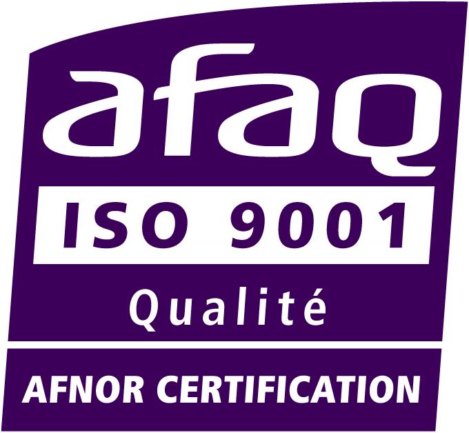logo certificat iso 9001